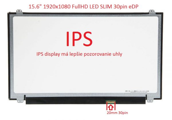 15.6 LED FHD SLIM 30pin edp IPS