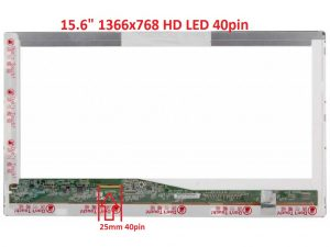 15.6 LED HD 40pin standard 1366x768