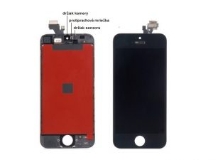 apple iphone 5 lcd display cierny