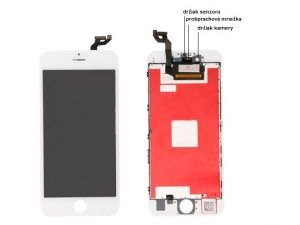 apple iphone 6s plus lcd display biely