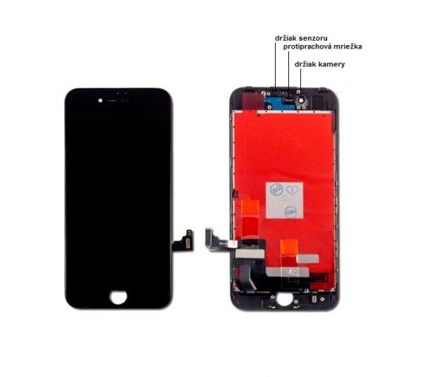 apple iphone 7 lcd display cierny