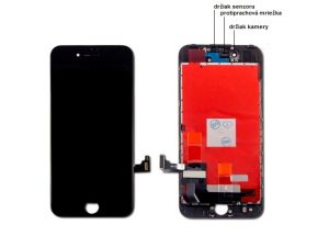 apple iphone 8 lcd display cierny