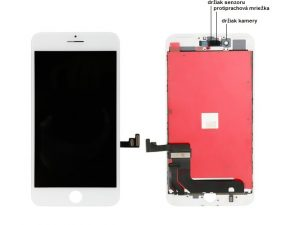 apple iphone 8 plus lcd display biely