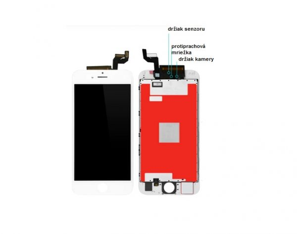 iphone 6s biely LCD display